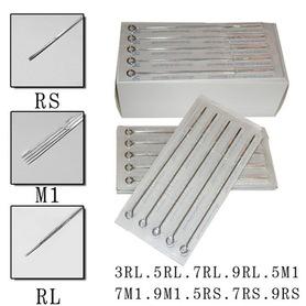 IGŁY 0,35mm DO TATUAŻU 3,5,7,9RL; 3,5,7,9RS; 7,9M1 OPAKOWANIE 50szt.