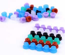 100x Silikonowe gumki buforujące na kotwę, buforki premium (1)